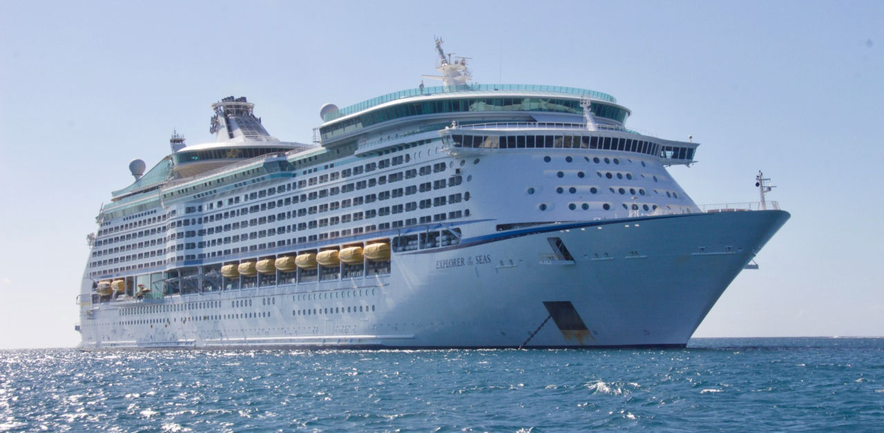 Cruise Ship going to Port Canaveral